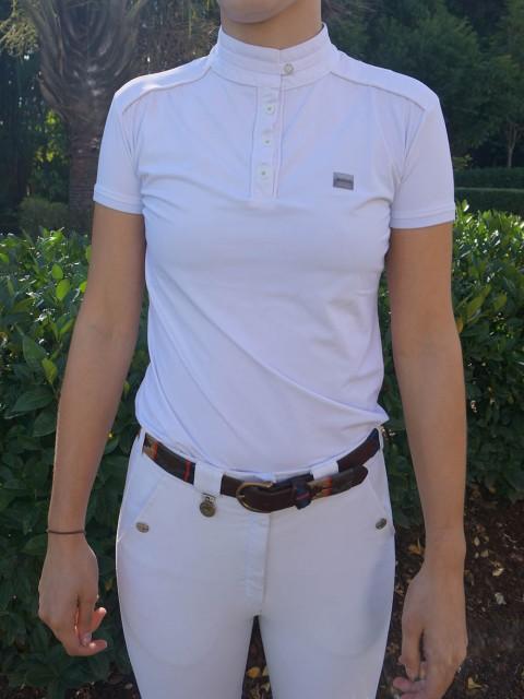 camisa de prova fem branca frente corpo