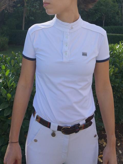 camisa de prova fem marinho frente corpo