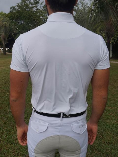 camisa de prova masc branca costas no corpo