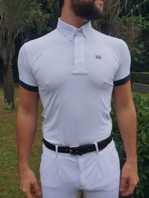 camisa de prova masc marinho frente corpo